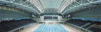 横浜国際プール=横浜市提供