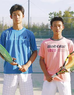 堀内さん(左)、三国さんペア