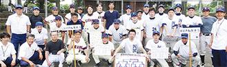 優勝争いを繰り広げた佐江戸加賀原Aチーム(左)とBチーム(主催者提供)