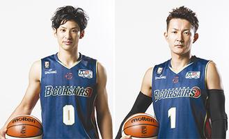 左から細谷将司選手、川村卓也選手