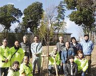10周年機に「桜」植樹
