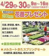 春の園芸フェア開催