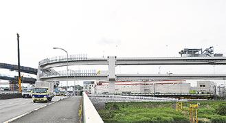 3月に開通した横浜北線