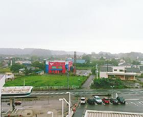 町役場からの風景