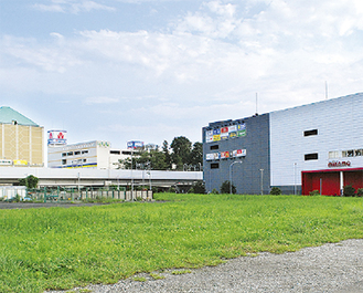 市保有の文化施設用地(中川中央)