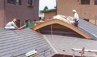 高い技術を生かした戸建ての屋根改修