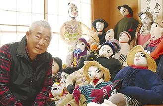 「お声があれば人形作り教室をやりたい」と漆原さん