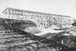 校舎建設過程の骨組み(1949年)