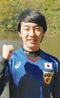 日本代表の前橋さん