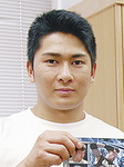青木優也選手=17年撮影