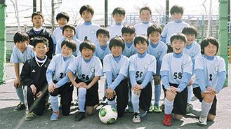 港北SCの4年生チーム