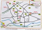 公園などが記されたマップ