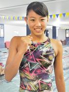 競泳で初の世界大会へ