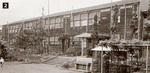 2現在の校地に木造校舎開校(1958年頃撮影)