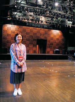 多くのダンスや演劇公演が行われているホール