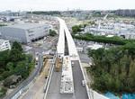 川向地区橋梁(5月7日撮影)=首都高(株)神奈川建設局提供
