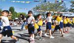 池辺白ゆり幼稚園年長児のダンス