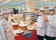 「米粉パン」企業と開発