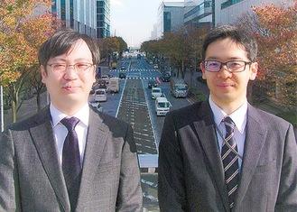 薩川弁護士(左)と有木弁護士
