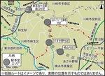 概略ルート・駅位置図