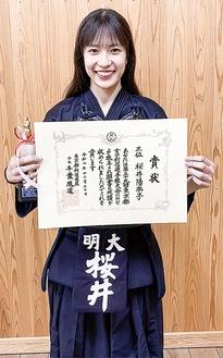 桜井陽奈子選手(写真は昨年12月の都予選時)