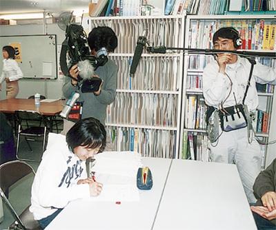 NHK・新聞などマスコミに取材される塾