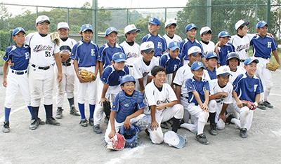 野球通じて深める絆