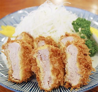 限定版「ヒレかつ定食」を千円で