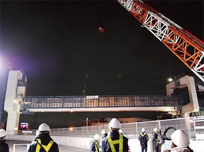 第三京浜上の橋梁架設へ