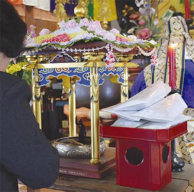 甘茶寺で花まつり