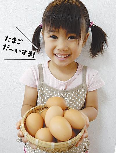 新鮮卵で夏の活力を