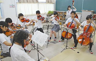 全国でオーケストラ演奏