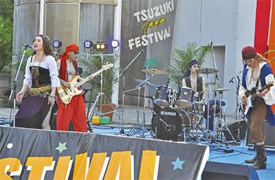 真夏の熱い音楽祭