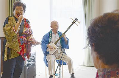 和楽器の音色に癒されて