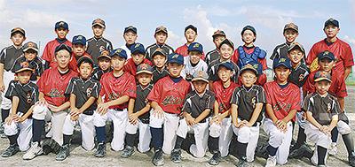 被災地と野球で交流
