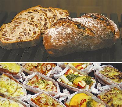 天然酵母のパンが楽しめる店