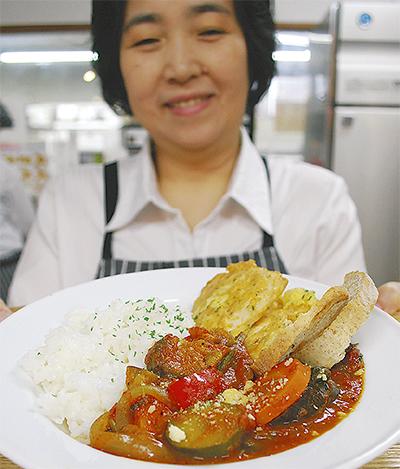 10種の野菜カレー提供中