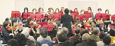中川で新春演奏会