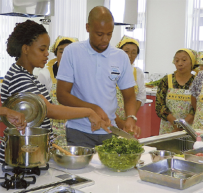 ボツワナ知る料理教室