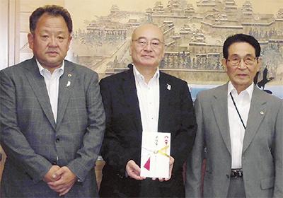 熊本に義援金を寄付
