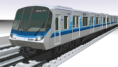 地下鉄に新型車両