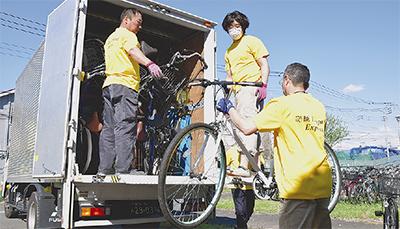 自転車をレソト王国へ