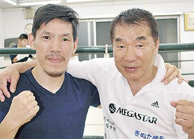 齊藤選手が日本王者に挑む