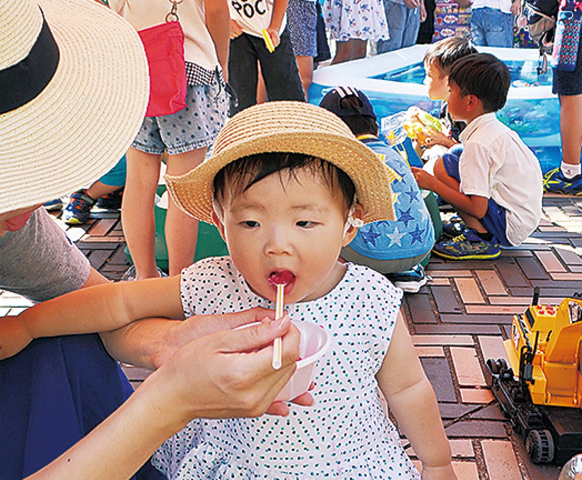区内各地で夏祭り