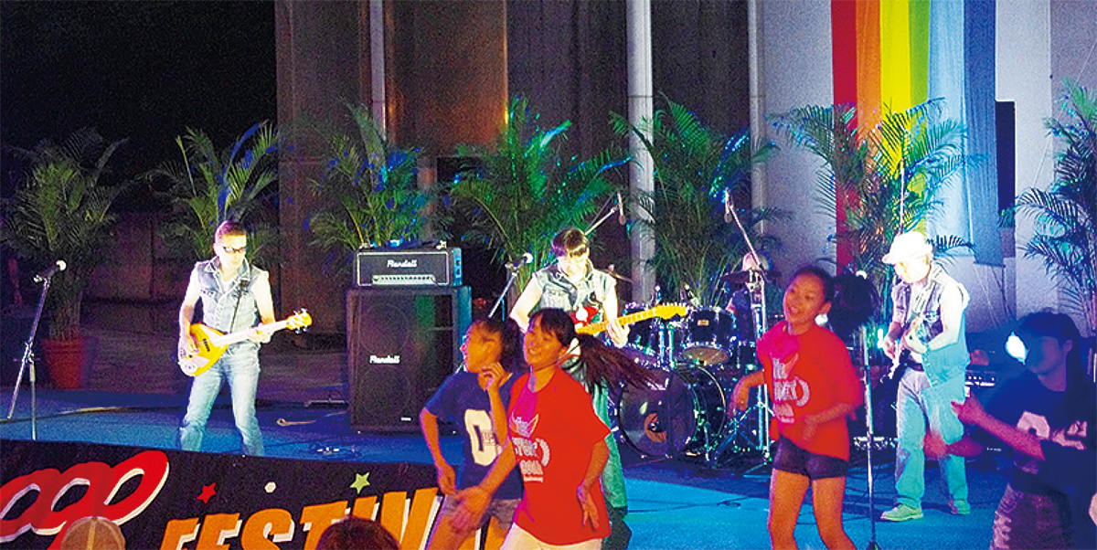 セン南で音楽フェス