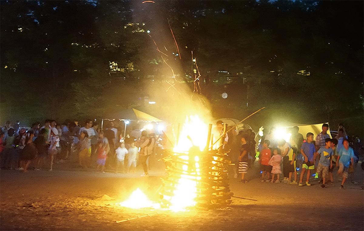 荏田南で夏キャンプ