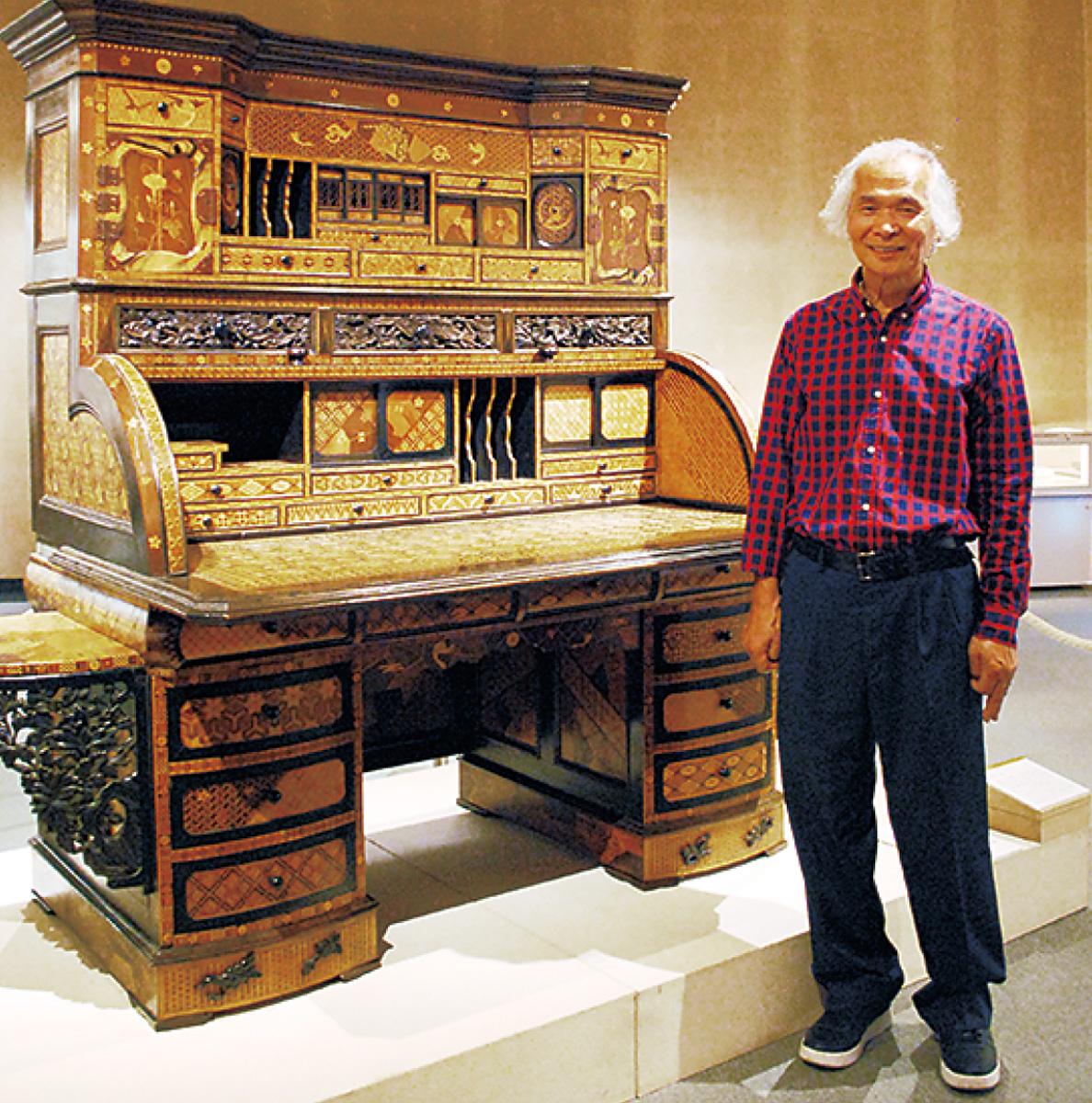 世界中の寄木細工が集結