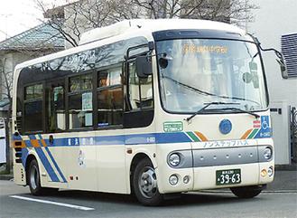 定員約36人の小型バス(写真=旭区役所提供)