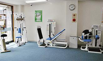 運動用のマシンを設置