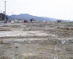 更地と化した釜石市(六串さん撮影)